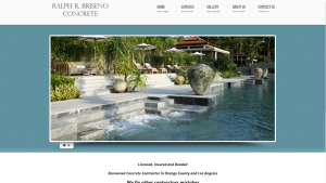 WordPress Website Design & SEO for Concrete Contractor