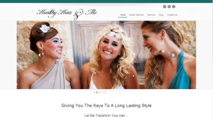 WordPress Website Design for Hair Stylist