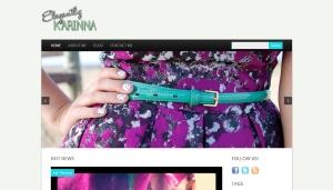 WordPress Website Design for Fashion Blog
