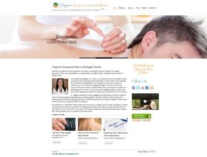 WordPress Website Design for Acupuncturist