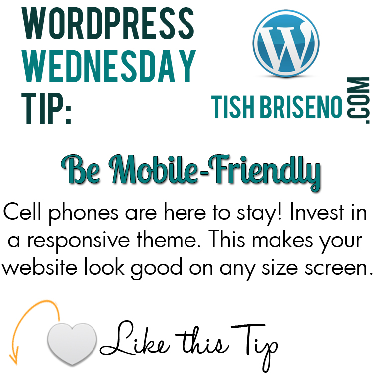 wordpress tip: mobile friendly