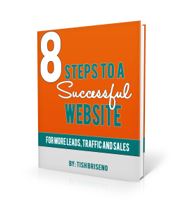 8 steps to a successful website by tish briseno