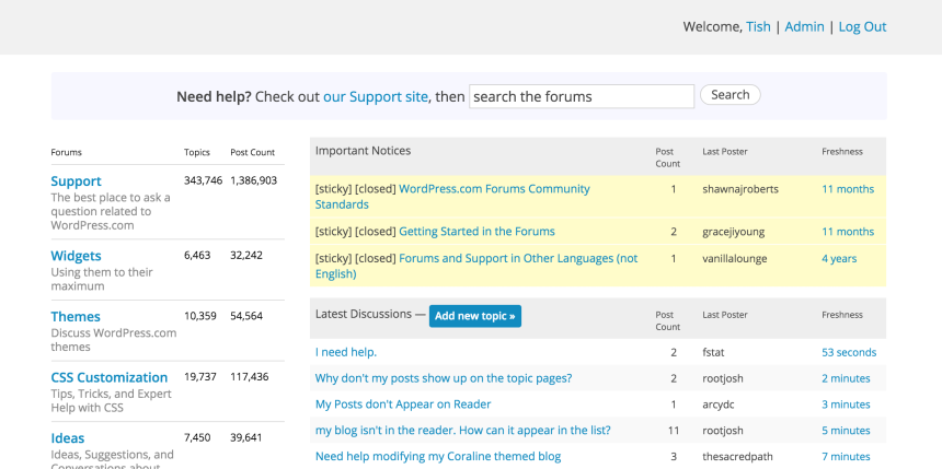 Happiness Engineer WordPress.com Support Forums.png