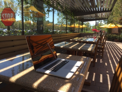 Working from Irvine today