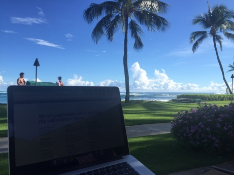 Working in Hawaii