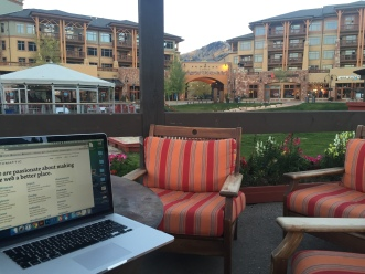 Working in Park City, UT