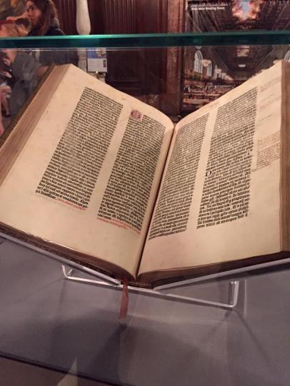 New York Public Library Gutenberg Bible