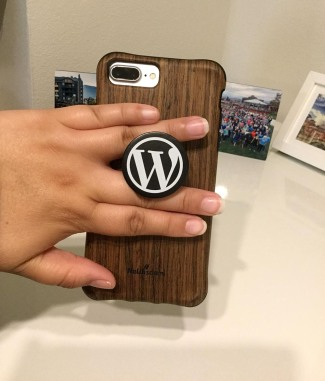 WordPress Phone PopSocket3
