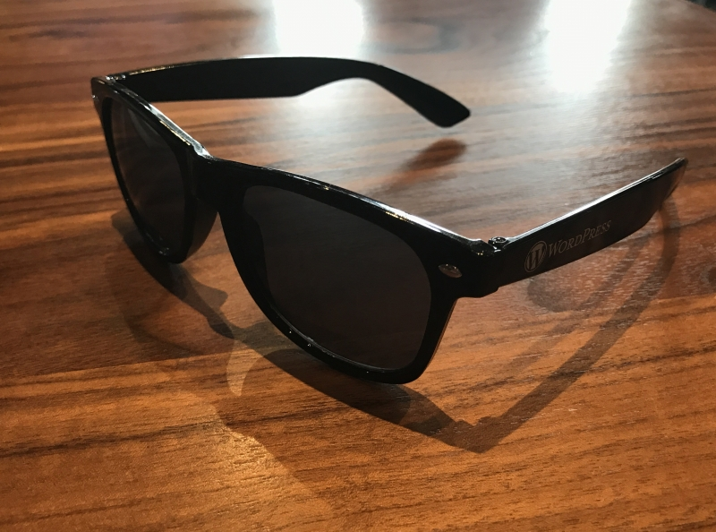 WordPress Sunglasses in Black