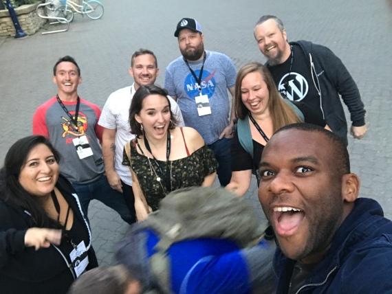 Sparta taking selfies